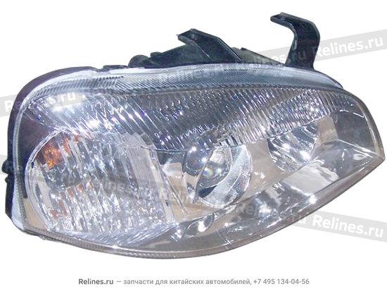 Headlight assy - front RH