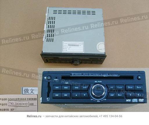 Магнитола DVD (супер люкс) сенсорный дисплей - 7901300AK00XB