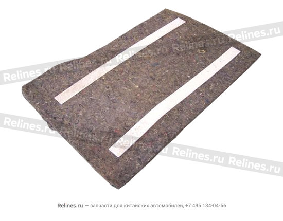 Cushion,left rear - A11-8210017