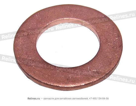 Шайба уплотнительная вала задней передачи КПП металл - 015301244aa