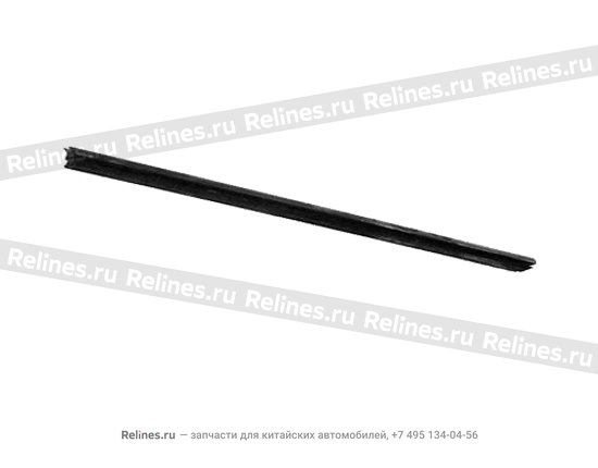 Уплотнит рейка двери (пер лев) пластик - A11-5206117