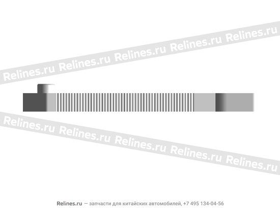 Пластина регулировочная заднего торможного механизма