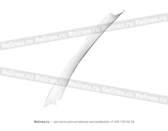 Накладка стойки передней правая (пл) - A15-5402020