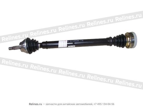 Привод колеса правый - A11-2203020AE