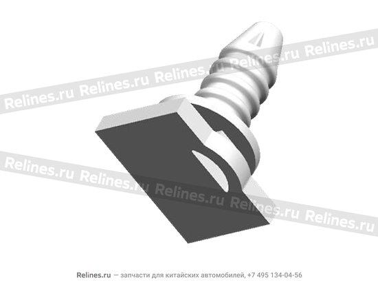 Пистон накладки порога (гвоздик) - A11-5101035