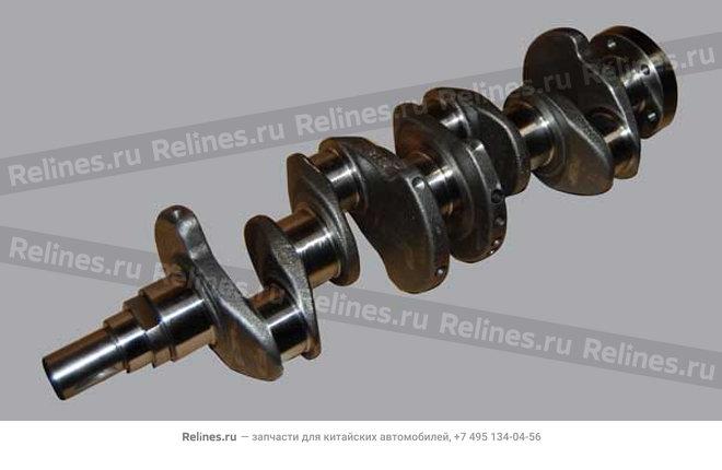 Коленвал (коленчатый вал) (480EJ, ЕВРО-3) - 480EJ-1005011