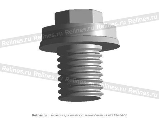 Пробка сливная магнитная поддона двигателя - 480-1009014