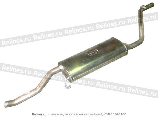 Silencer assy-rr - A15-1201210