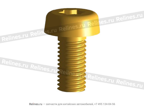 Screw - inner hexagon knurled head - 480-1003088