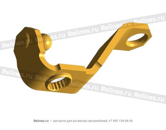 Кронштейн механизма привода переключения передач металлический - A11-1703140