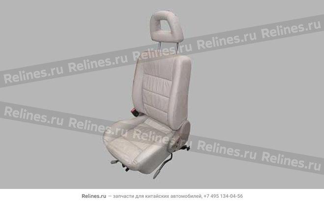Seat assy - FR LH - A15-6800010BK