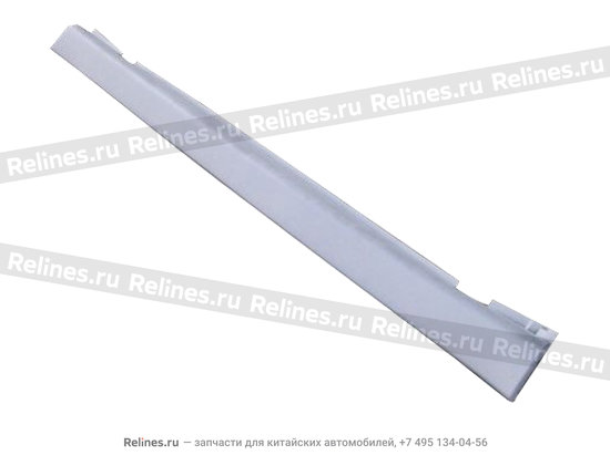 Накладка порога кузова левая - A15-6102910AC-DQ