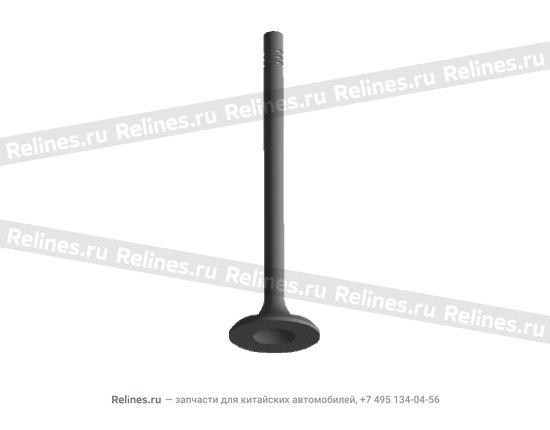Клапан выпускной - 480-1007012