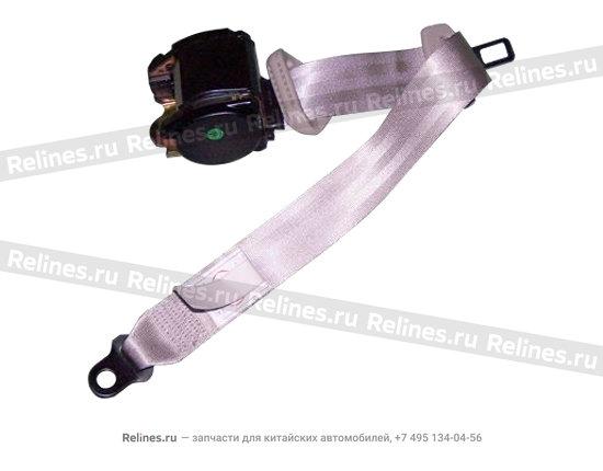 Safety belt r rear