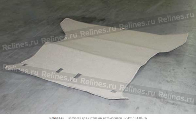 Luggage carpet(big spare tyre) - A15-8210020BS