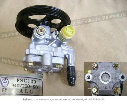 Насос гидроусилителя (ГУРа) (нового образца) - 3407200-K00