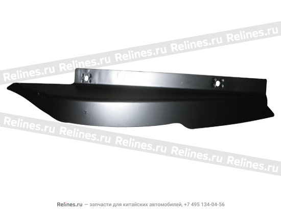 Plate - end RH