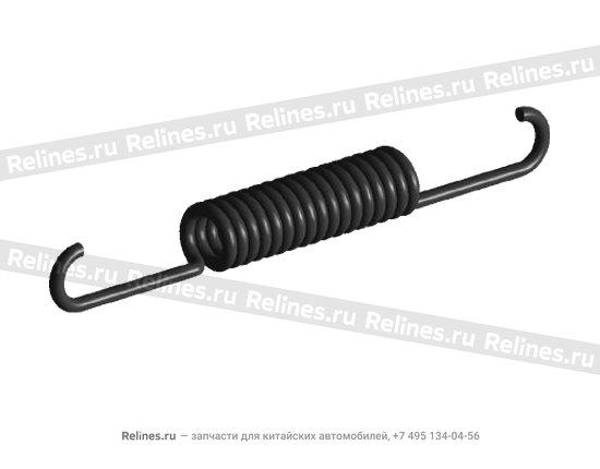 Пружина заднего тормозного механизма - A11-3502027