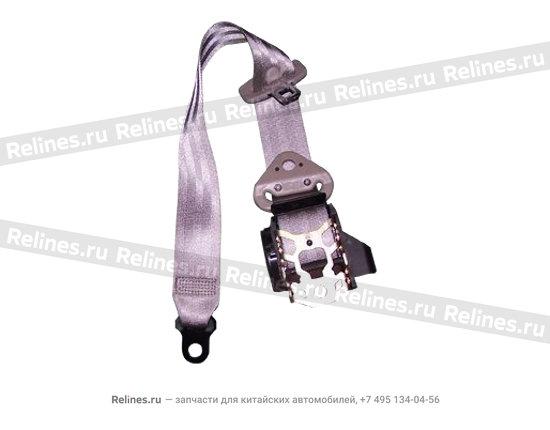 Safety belt - rear LH