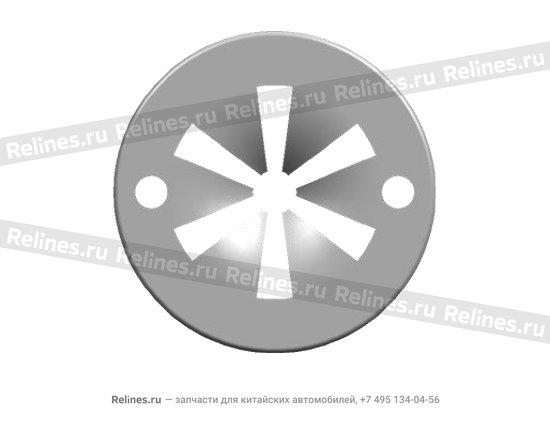 Gasket - fastening clip - n90335001