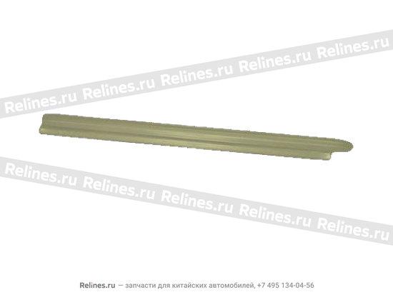 Накладка порога передняя правая темно-серая - A15-5101040