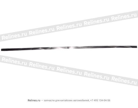 Diaphragm,glass channel-r. - A11-6201115