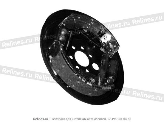 Механизм тормозной задний левый (ABS)