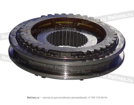 Synchronizer assy - clutch(3RD&4TH) - A15-1701360NV