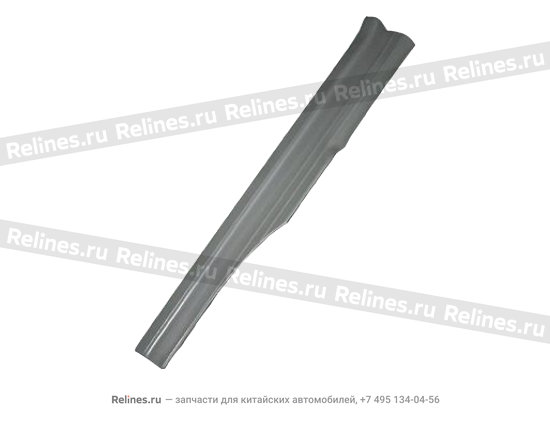 Накладка порога задняя левая серая - A11-5101050AL