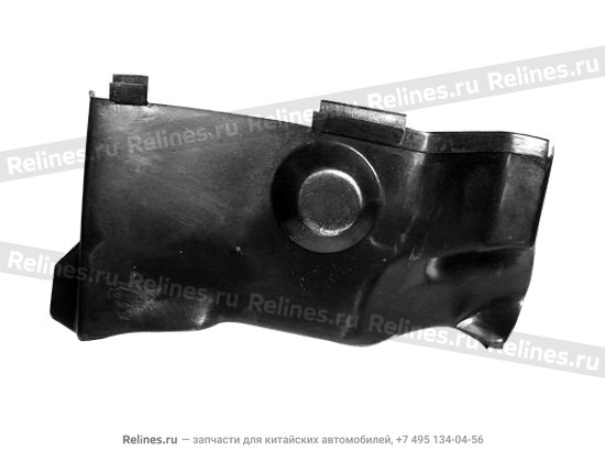 Hood - shield (RH head lamp UPR) - A11-5300551