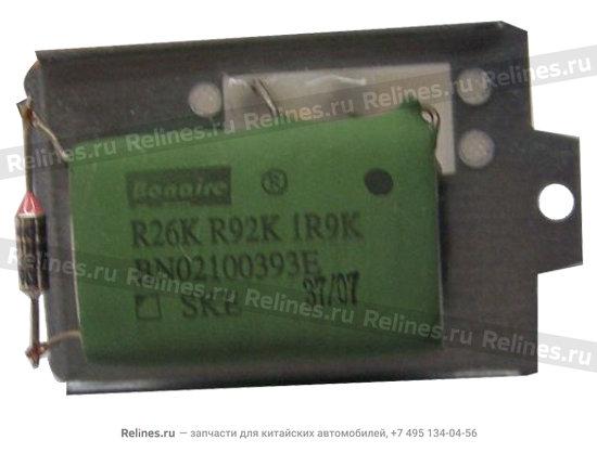 Резистор отопителя (печки) - A11-8107031
