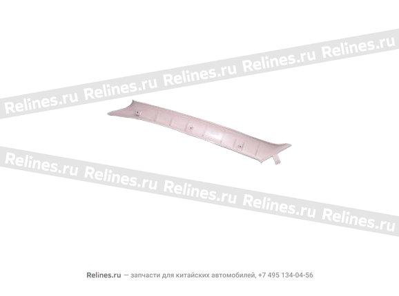 Trim board - a pillar RH
