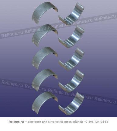 Вкладыши коренные (комплект) (0.5) - 480-1AT1005012