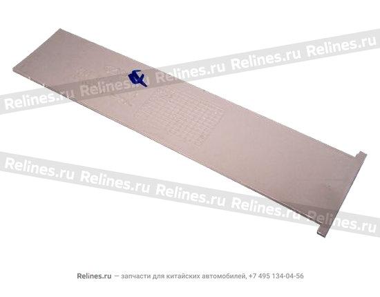 Panel - block (Safe belt adjusting)