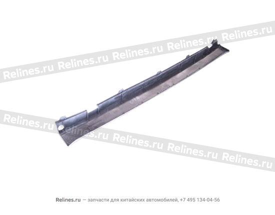 Накладка порога кузова правая - A15-6102920AB-DQ