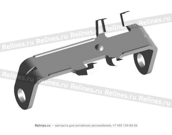 Рычаг возвратный механизма переключения КПП металл - 015311571aa