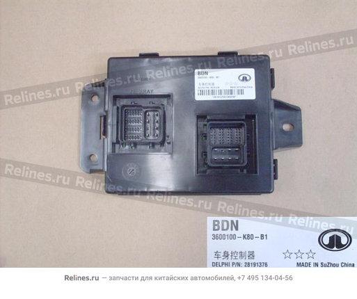 Блок управления электрооборудованием (новый салон) - 3600100-K80-B1