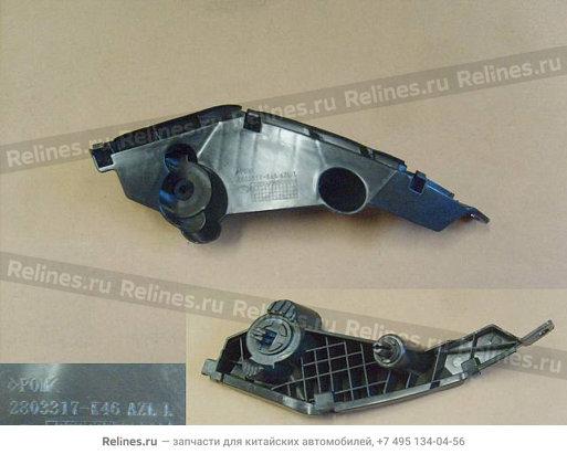 Кронштейн крепления переднего бампера левый New - 2803317-K46
