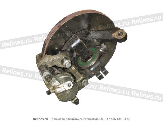 """Изображение продукта """"Brake disk-left FR steering knuckle"""""""
