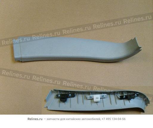 Накладка стекла двери задка внутренняя левая (новый салон) - 6302100-K00-00CV