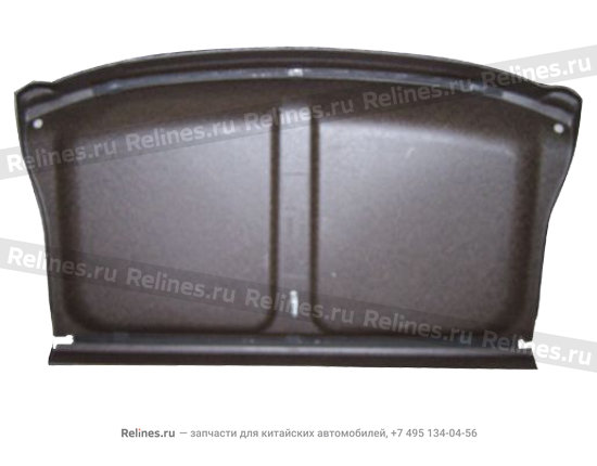 Luggage compartment panel assy