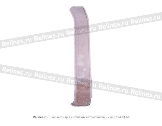 Reinforcement - hinge lower RH