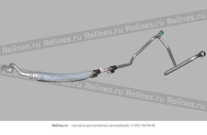 Pipeline compressor-condenser