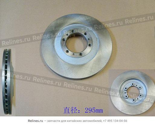 Диск переднего тормоза (дизель) - 3103102-K02