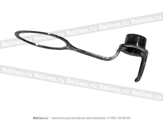 Пробка отверстия КПП контрольного пластиковая - 015301106aa