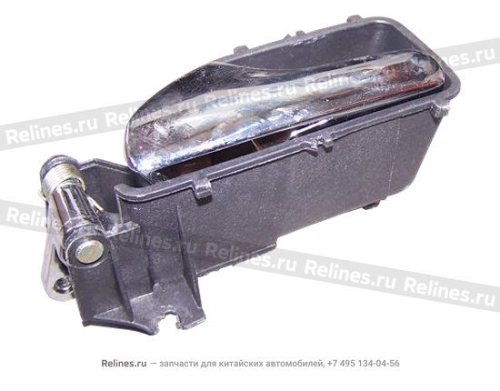 Ручка двери внутренняя передняя/задняя правая черная - A11-6105450