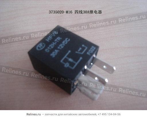 Реле 4 контактное - 3735020-M16