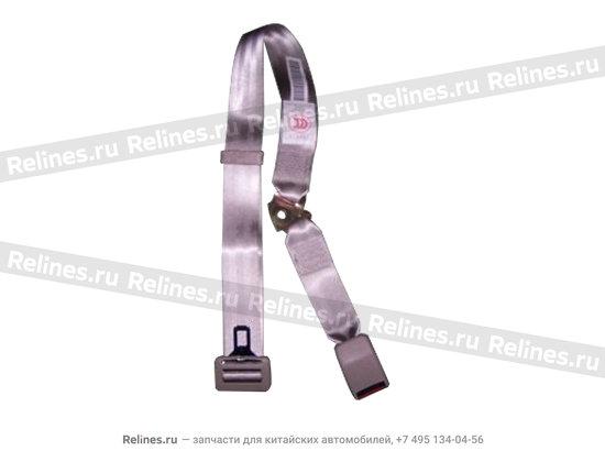 Intermediate safety belt assy