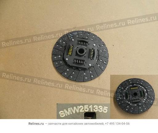 Диск сцепления ведомый дв.4G63T - SMW251335