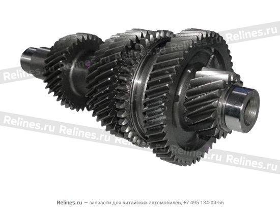 Output shaft - A15-1701412NV